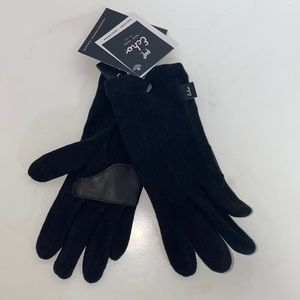 Echo New York Black Warm Gloves women's size Small/Medium